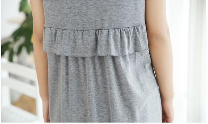 815b31a3a1 2019 Maternity Pajamas Dresses Nursing Nightgown Sleepwear Nightwear ...
