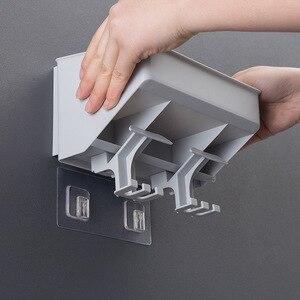 Image 4 - クリエイティブ歯ブラシホルダー歯カップため 2 人 3 人 4 人北欧スタイルシンプルなデザインの収納オーガナイザー