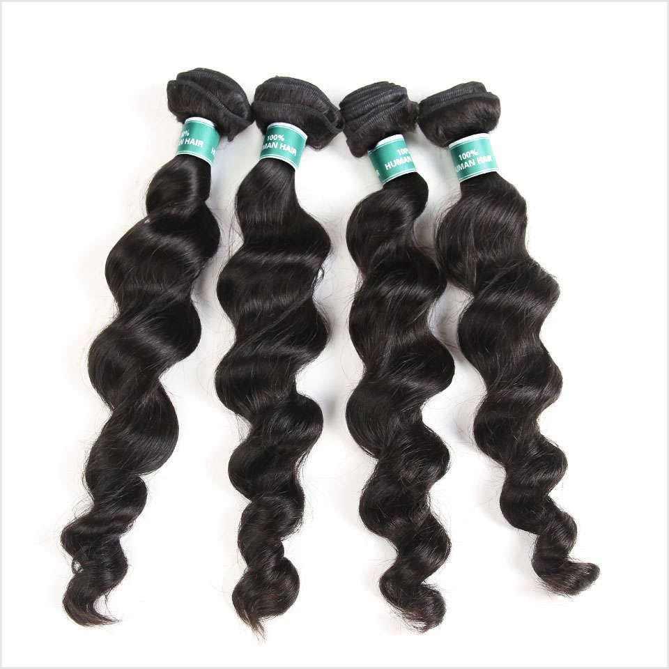 Ali Grace Haar Maleisische Losse Golf 1 Bundel Natuurlijke Kleur 100% Menselijk Haar Weven Remy Hair Extensions Kan Worden Geverfd