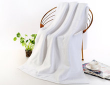Luxury Egyptian Cotton Bath Towels 650g Thick beach towel bathroom home 70*140cm Solid for SPA Bathroom Terry towels Adults