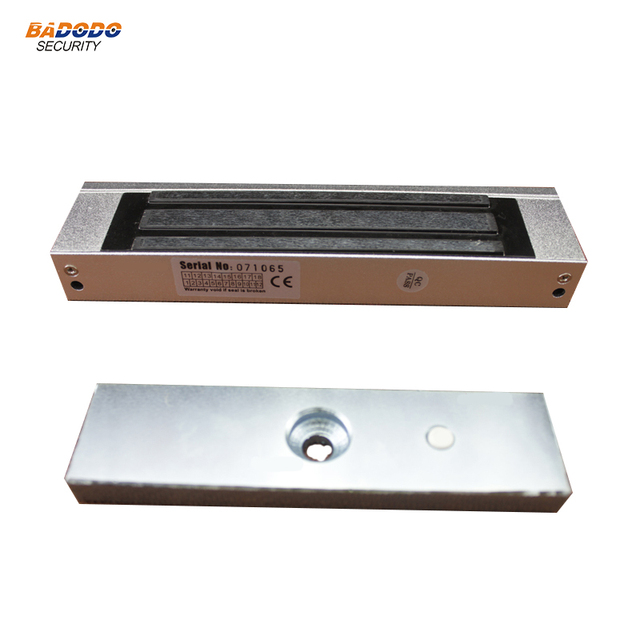 DC12V electromagnetic lock electric magnetic lock 180Kg 350Lbs holding force for glass door access control