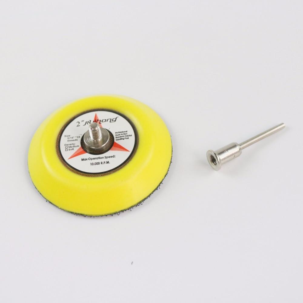 MAXMAN Disco de lijadora de 3 pulgadas Papel de lija Almohadilla - Herramientas abrasivas - foto 3