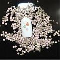 Alta qualidade SS3-SS34 Pink Opal de Cristal Não Hotfix Strass Flatback Prego Strass Para Unhas 3D Nail Art Decoração Gems