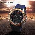 New 2016 Mens Sport Watches Top Brand Luxury Analog Quartz Watch digital-watch Silicone Strap Military Waterproof Wristwatch