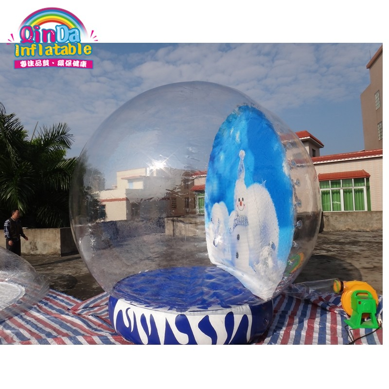 inflatable snow globe23