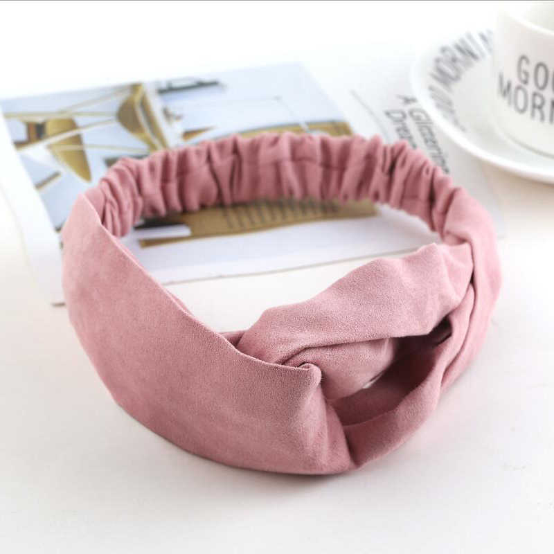 2018 Lady Headdress Plaid Bow Headband Turban Elastic Headwear Head Wrap Women Hair Accessories for Women Striped Hair Bands