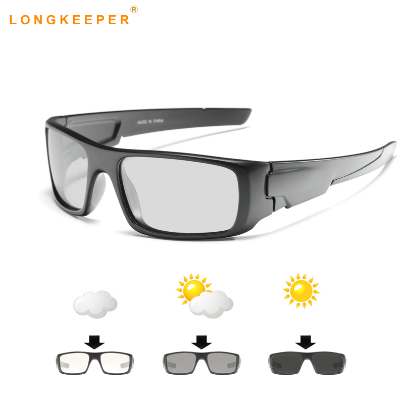 Photochromic Sunglasses Men Polarized Driving Anti glare ...