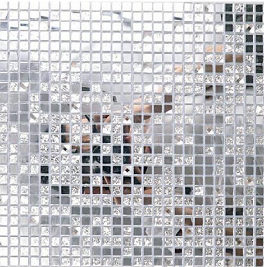 Mirrored Mosaic Tile | Tile Design Ideas