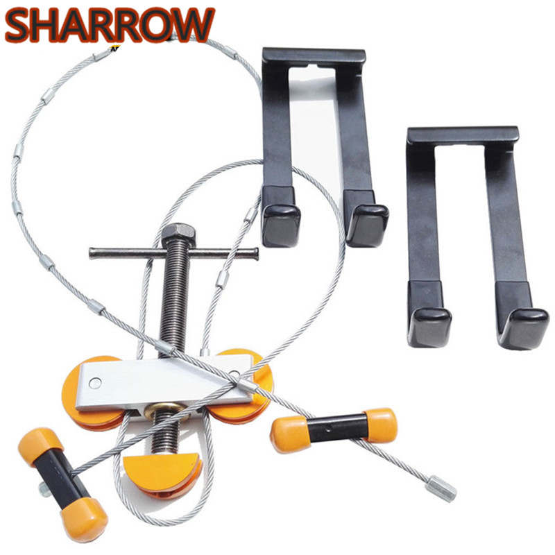 1Set Archery Bow Press and L Brackets Portable Bow Press Compact Bow String Changer Tools Outdoor Shooting Training Accessories-in Darts from Sports & Entertainment    1