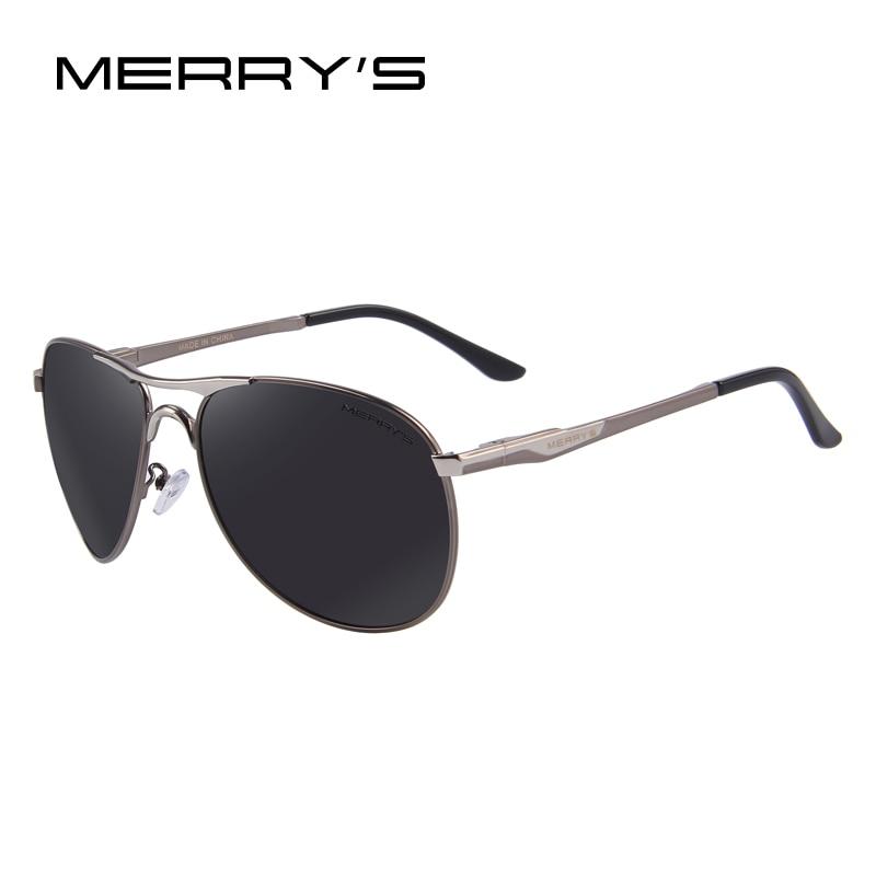 dc6f0b4da Gafas de sol polarizadas de aluminio para hombre MERRYS gafas de sol de  marca clásicas EMI defensa lente de conducción sombras S8712 en De los  hombres gafas ...
