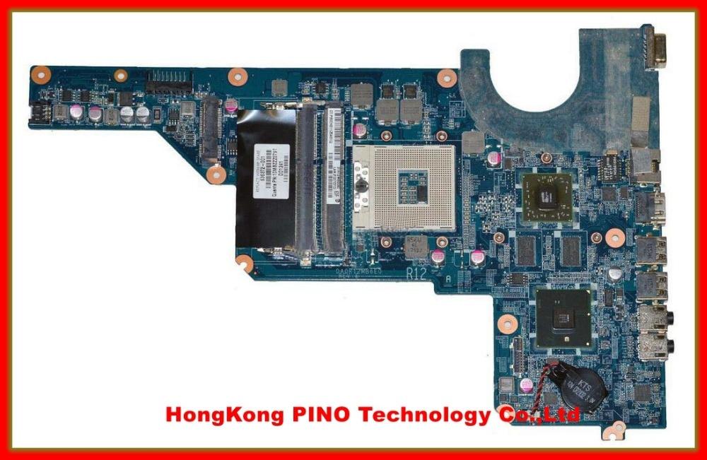 636372 001 DA0R12MB6E0 REV E laptop motherboard For Hp Pavilion G4 G6 G7 Notebook PC 636371