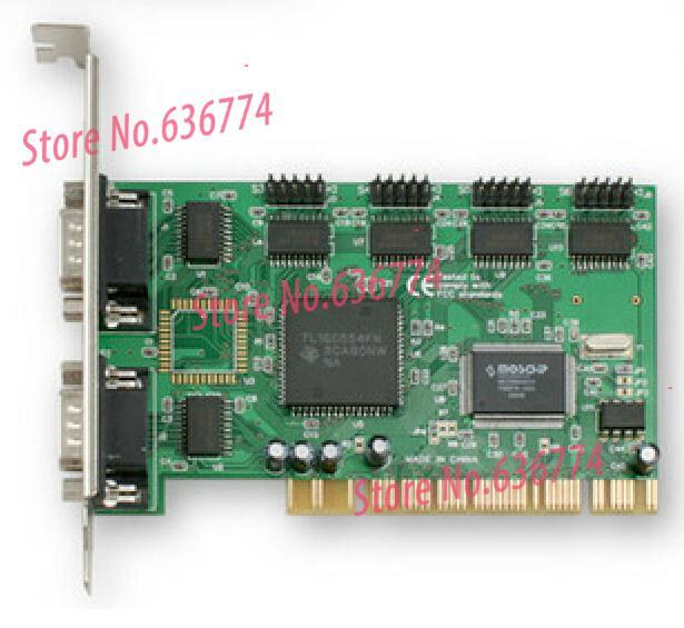 PCI Serial Port card RS232 card 9 pin COM PCI 6 9845-6S pci 1620au 8 port rs232 serial card card multi user communication card