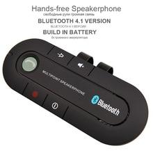 Kit de Coche Bluetooth Multipunto con altavoz Bluetooth Aux 4.1 V Transmisor de Manos Libres Kit de Coche Reproductor de MP3 Para Dual Teléfonos se Conectan