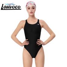 Yingfa One Piece Swimsuit Professional Women's Swimwear Sharkskin Backless Competition Plus Size Sports Quick Dry 3XL Beachwear