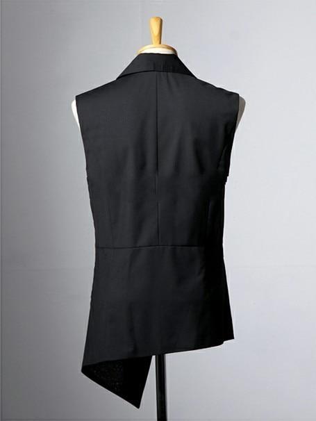S Costume Vêtements Court 4xl Noir Asymétrique Spirale Taille Gilet Plus 2016 Nouveaux Long Chanteur Costumes Hommes La Balayage qHxFwrHX
