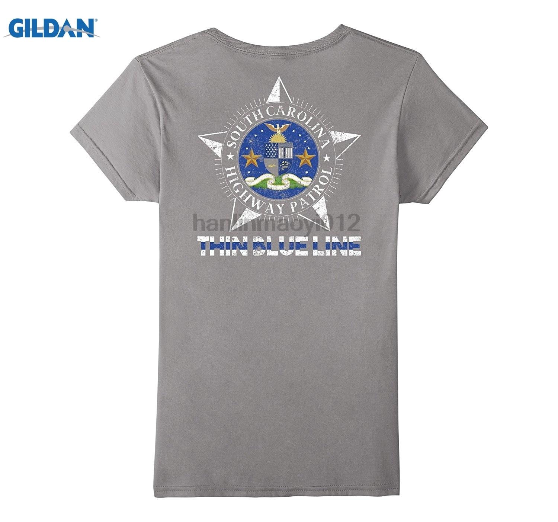 GILDAN South Carolina Highway Patrol Shirt SC Highway Patrol Dress female T-shirt