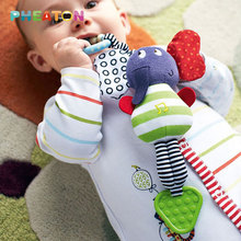 Elephant Baby Toys New Infant Plush Mobile Baby Rattles Lather Crib Car Hanging Rattles Bebe Stroller