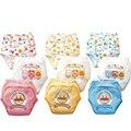 Promoção 3 pçs/lote Calças 3 camadas de Formação Do Bebê Anpanman Fraldas Fraldas Menino Roupa Interior da Menina Calças Curtas #001