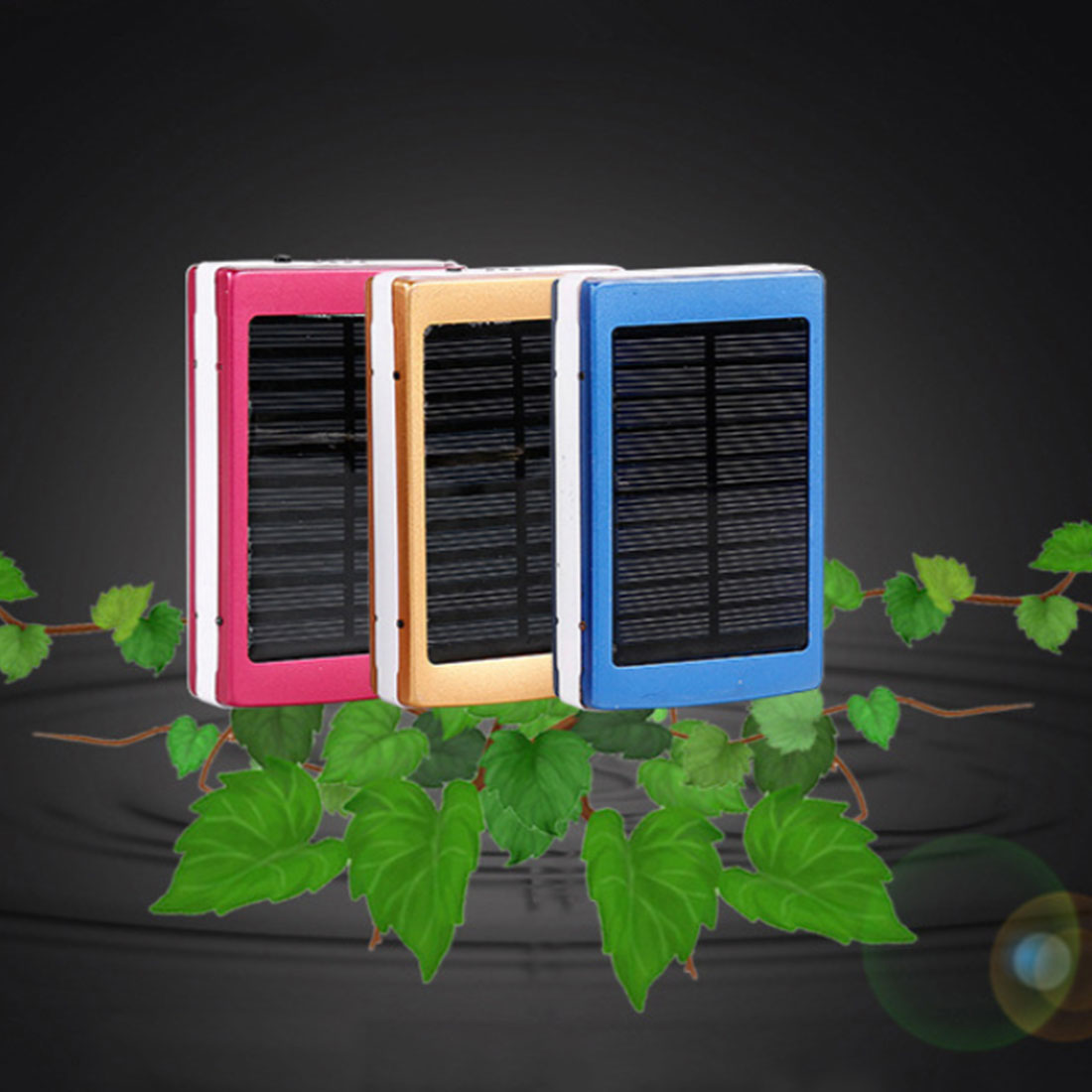 Dual USB LED PCBA Circuit Board Solar Power Panel Home Solar Panel Bank 18650 Battery with LED Counterfeit Light Portable Charge