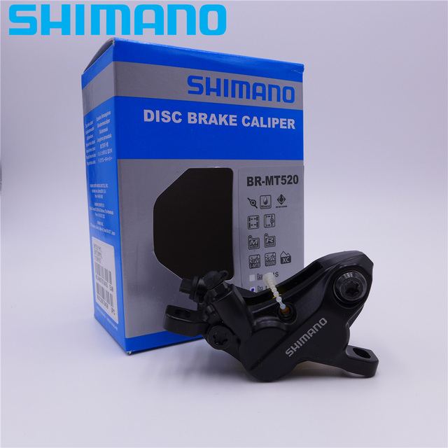 3cdda75941e SHIMANO Deore BR MT520 MTB Disc Brake Caliper Piston Type 4 For XC MTB 2018  NEW