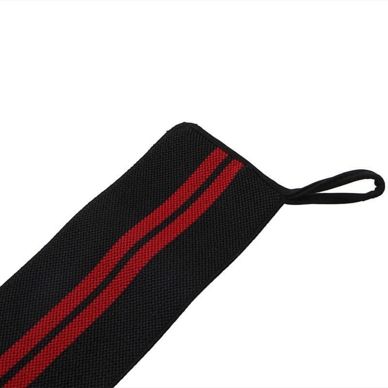 رفع الأثقال حزام اللياقة البدنية الصالة الرياضية قفازات المعصم لرفع الأثقال ضمادة اليد دعم معصمه