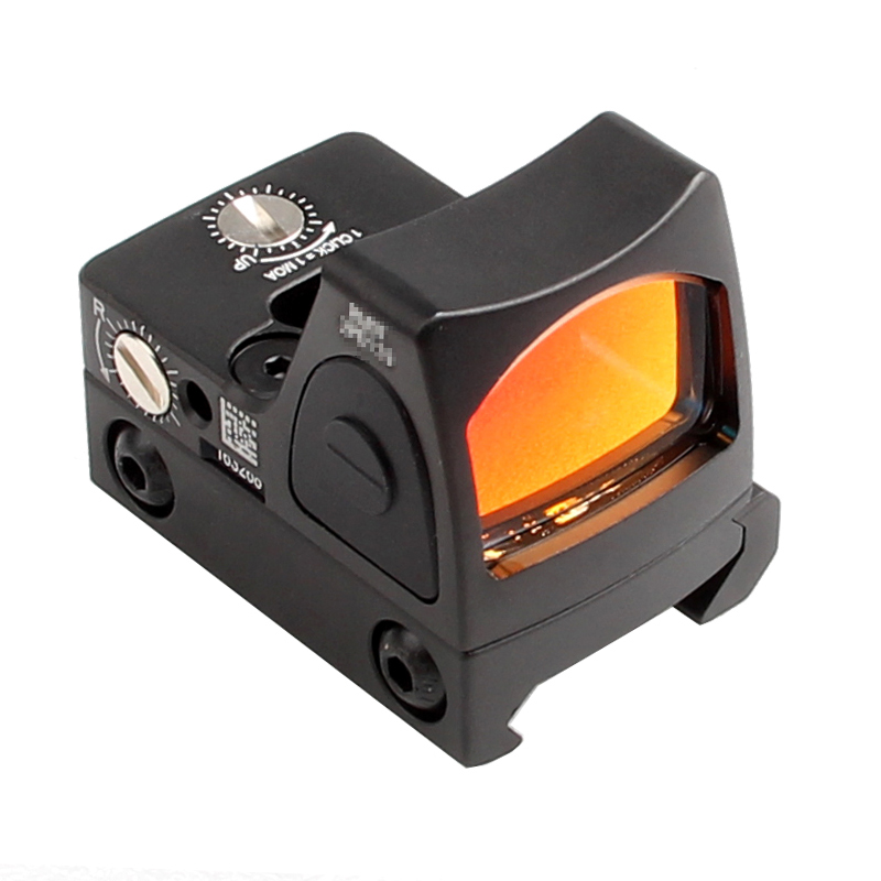 Image 5 - US Stock Mini RMR Red Dot Sight Collimator Glock Reflex Sight Scope fit 20mm Weaver Rail For Airsoft Hunting Rifle RL5 0004 2-in Riflescopes from Sports & Entertainment