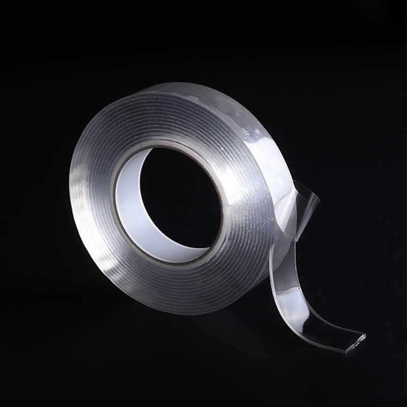 5M Nano-free Magic Tape Tape Anti-slip Fixed Adhesive  Hook and Loop Office Kitchen