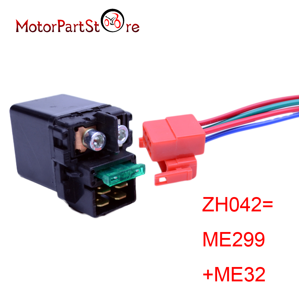 hight resolution of electrical starter solenoid relay plug for kawasaki zx636 zx750 zx900 zx1200 ninja zx 6r zx 7r zx 7rr zx 9r zx 12r zzr1200 in motorbike ingition from