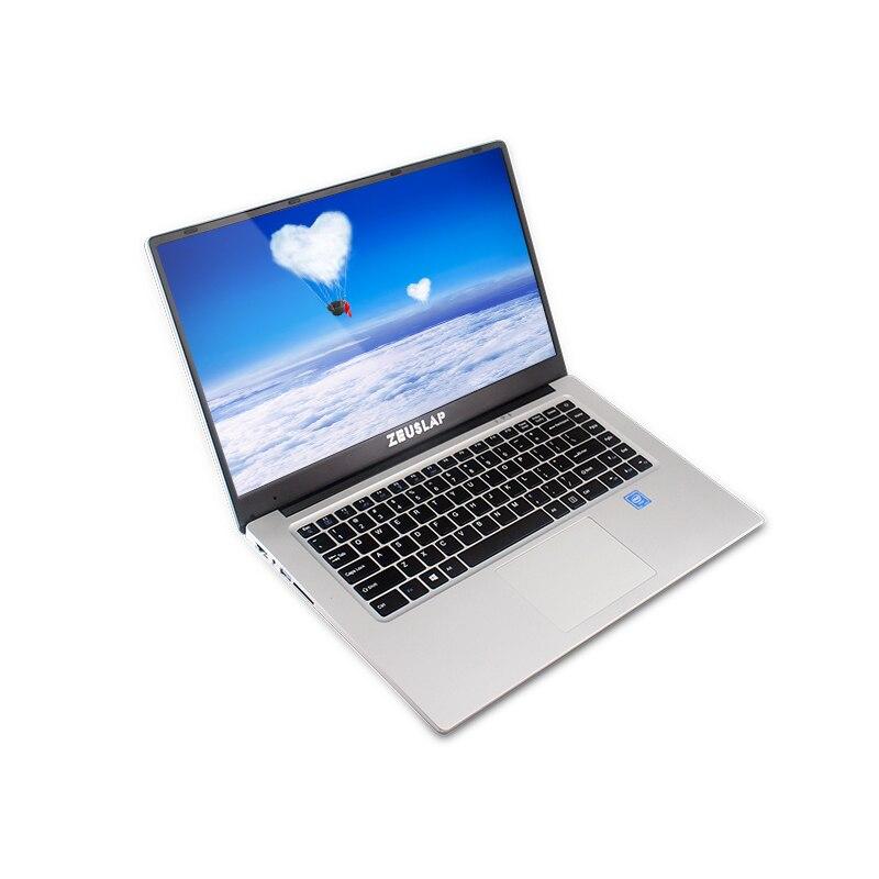 ZEUSLAP New 15.6inch 1920*108P IPS Screen Intel Celeron 6gb ram 64gb ssd 1tb hdd cheap Netbook Laptop Notebook Computer