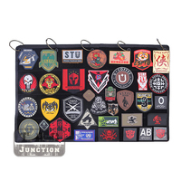 Emerson Tactical Morale Patch Display Board Roll Up Grommets Wall Hanging Badge Collection Storage Frame Holder Organizer Panel