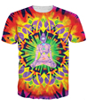 Innervision T-Shirt psychedelic t shirt Summer Style  tops Women Men Colorful Beautiful tees Plus Size Free Shipping