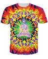 Innervision psicodélico T-Shirt camiseta Del Verano tops Estilo Hombres de Las Mujeres Coloridas Hermosas camisetas Tallas Envío Gratis