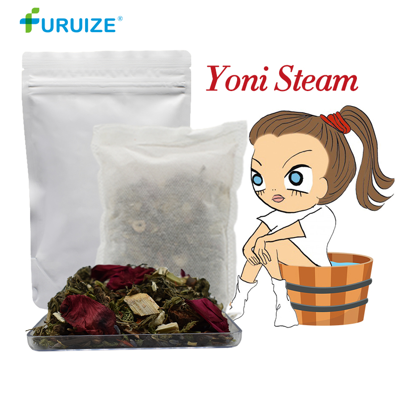 100% Chinese herbal detox vapor Yonisteam yoni de vapor de vapor SPA para as mulheres Higiene feminina vaginal vaginal saúde natural à base de plantas