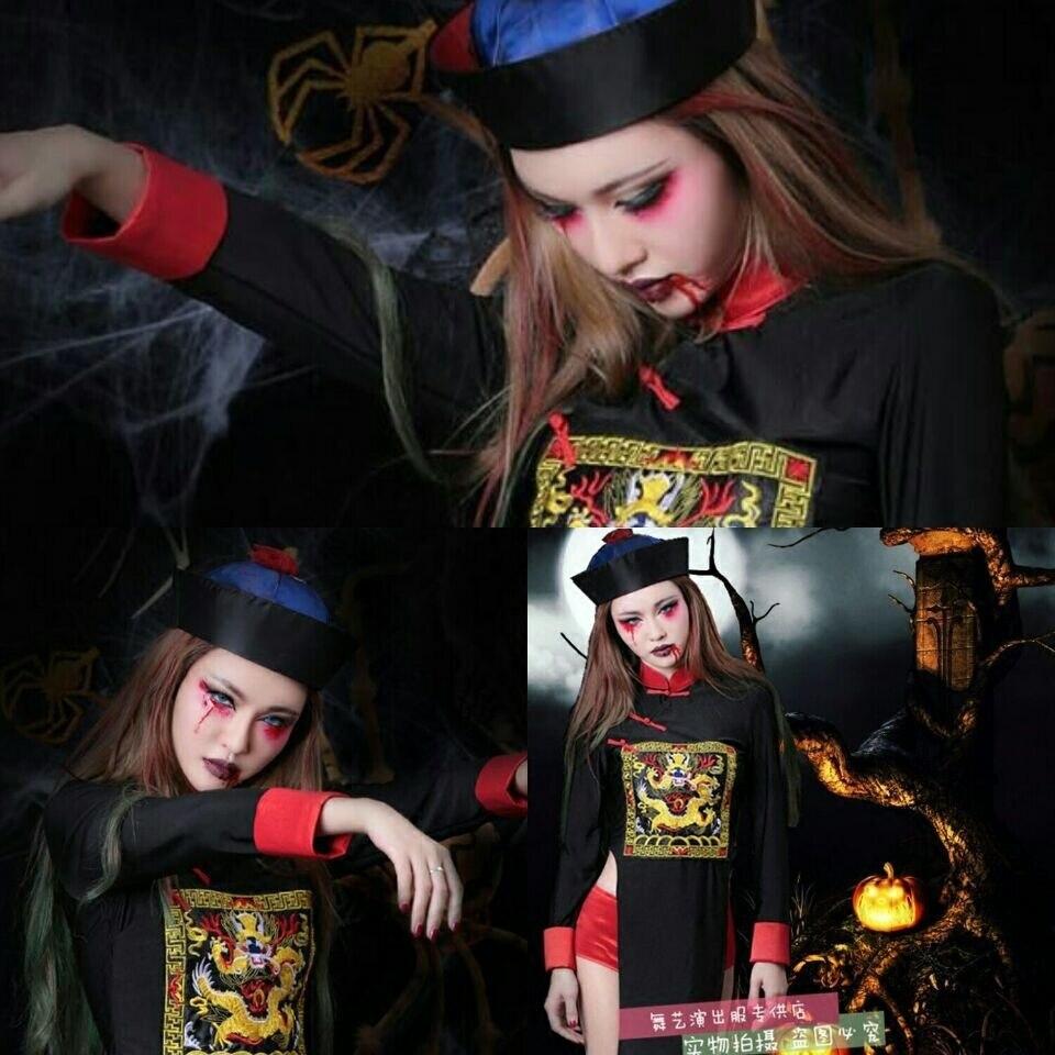 6ead568cae229 Disfraces de Halloween vampiro rendimiento trajes mujer Zombie ropa  fantasma trajes de novia sexy - a.spelacasino.me