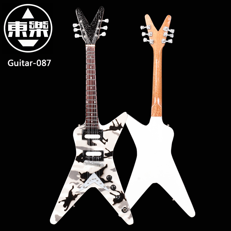 Wooden Handcrafted Miniature Guitar Model guitar-087 Guitar Display with Case and Stand (Not Actual Guitar! for Display Only!) smeg kv 90
