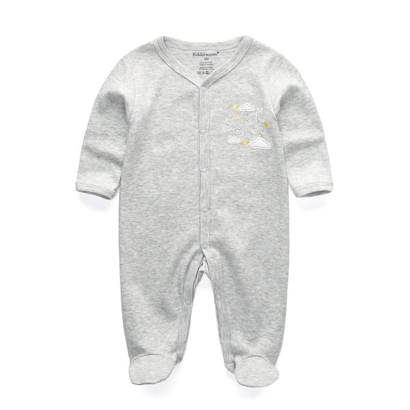 2/3/4Pcs/set baby rompers Cotton roupas menino newborn girl clothes Long Sleeve Overalls Jumpsuit infantis Clothing sets