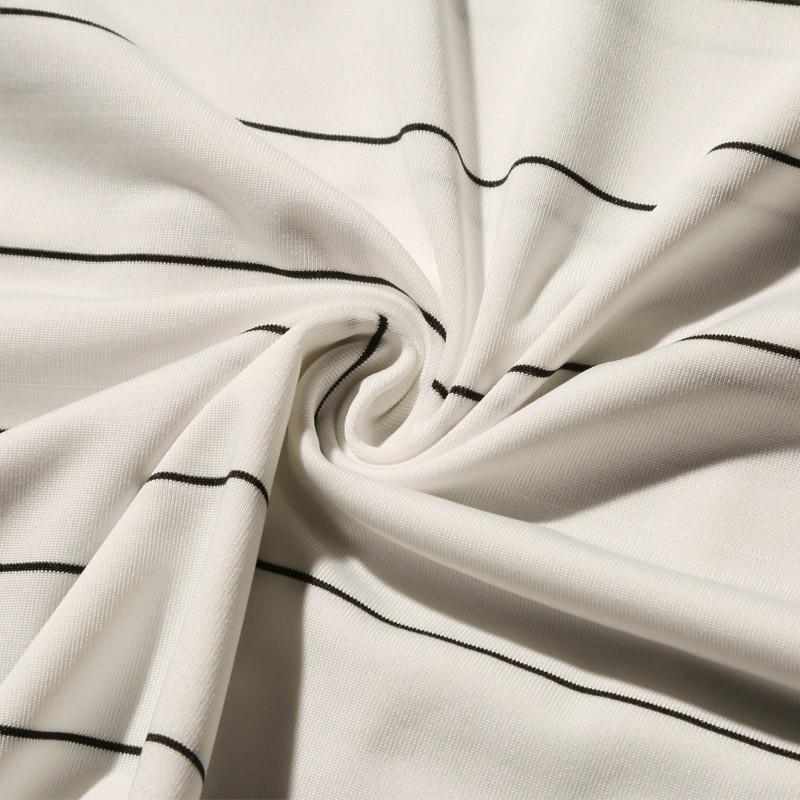 Summer T-shirt Men's Short-sleeved Fashionable Half-sleeved Round-collar Slim Men's Stripe Half-sleeved Clothes MW51 5