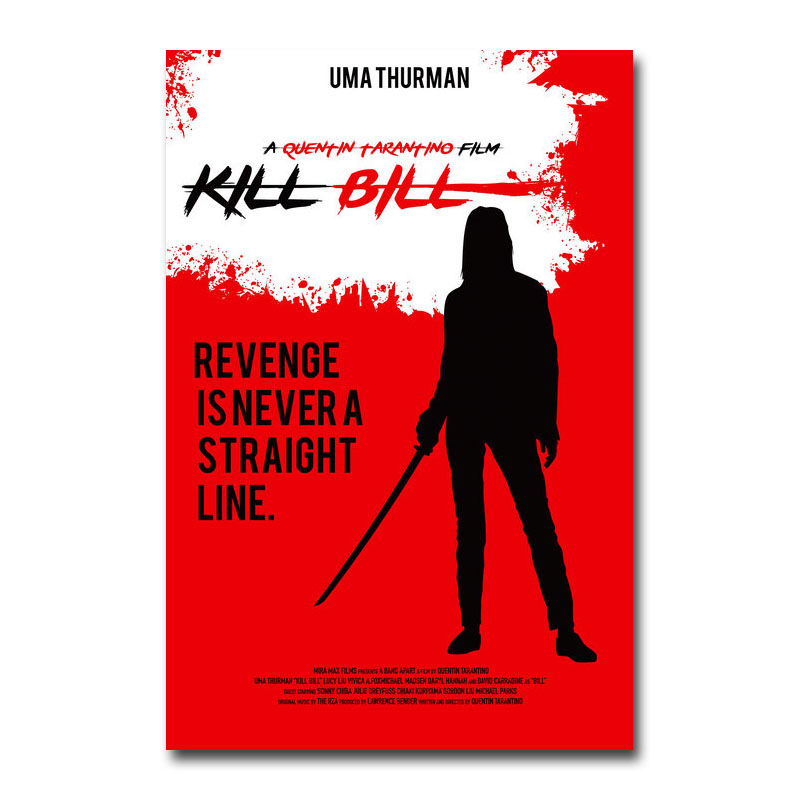 "Inglourious Basterds Quentin Tarantino Movie Poster 13x20/"" 20x30/"" 24x36/""  Print"