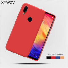 Xiaomi Redmi 7 Case Shockproof Soft Rubber Silicone Matte Protective Phone For Back Cover