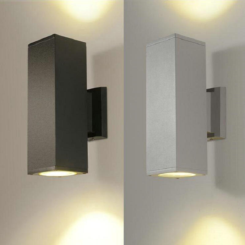 Lighting Basement Washroom Stairs: Free Shipping 6W Double LED Wall Ligh Wall Lamp Up And