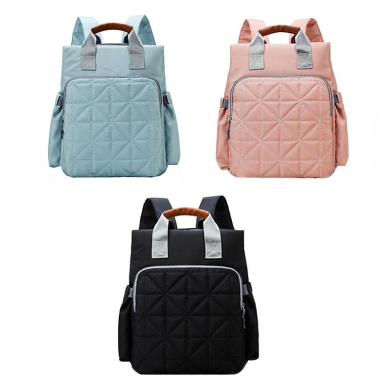 Portable Fashion Mummy Bag Large Capacity Backpack Outdoor Baby Diaper Bags Travel Backpack Designer Nursing Bag for Baby CarePortable Fashion Mummy Bag Large Capacity Backpack Outdoor Baby Diaper Bags Travel Backpack Designer Nursing Bag for Baby Care