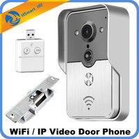 New 3G Wifi Video Door Phone Intercom SD Card Outdoor IP Camera Doorphone Doorbell System P2P Motion Detection+Strike Door Lock