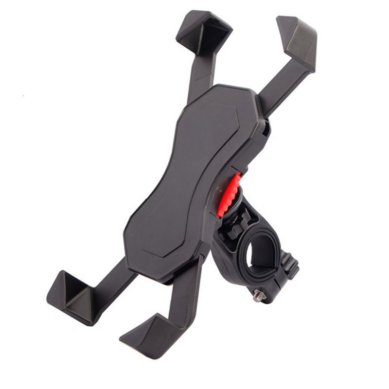 ODIER Bicycle HandleBar Rail Mount Universal Cell Phone Grip Holder for 3 5 7 Inch Mobile