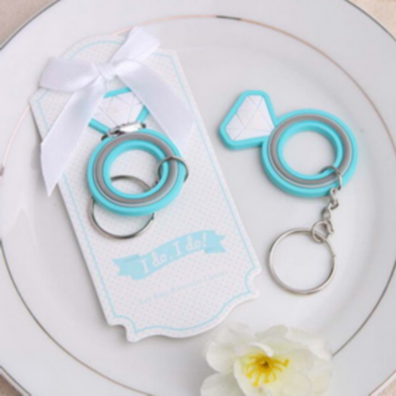 design with this ring rubber keychain wedding