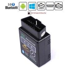 HH OBD ELM327 Bluetooth OBD2 OBDII CAN BUS проверить двигатель автомобиля Авто диагностический сканер инструмент Интерфейс адаптер для Android ПК