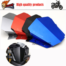 Titanium Motorcycle Accessories Motorbike Windshield Windscreen fits For Yamaha MT09 MT 09 2014 2015 FJ 09