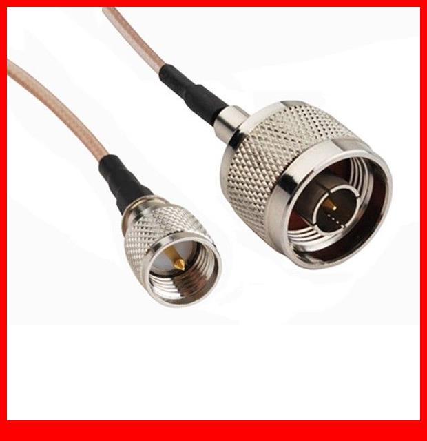 10 pcs  3ft RF Jumper Cable N Male to Mini-UHF Male COAXIAL Cable RG31610 pcs  3ft RF Jumper Cable N Male to Mini-UHF Male COAXIAL Cable RG316
