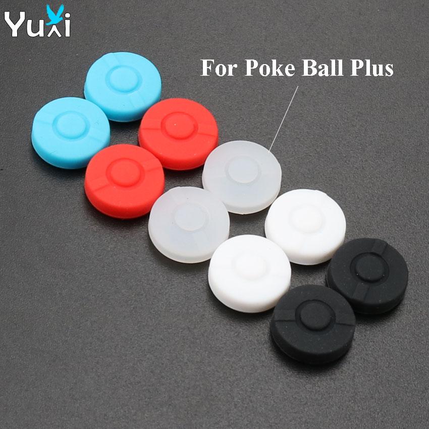 YuXi 2pcs Aperto Vara Grips Cap Capa Case Para Nintend Interruptor Joystick bola Puxão Além de Controlador de Jogo
