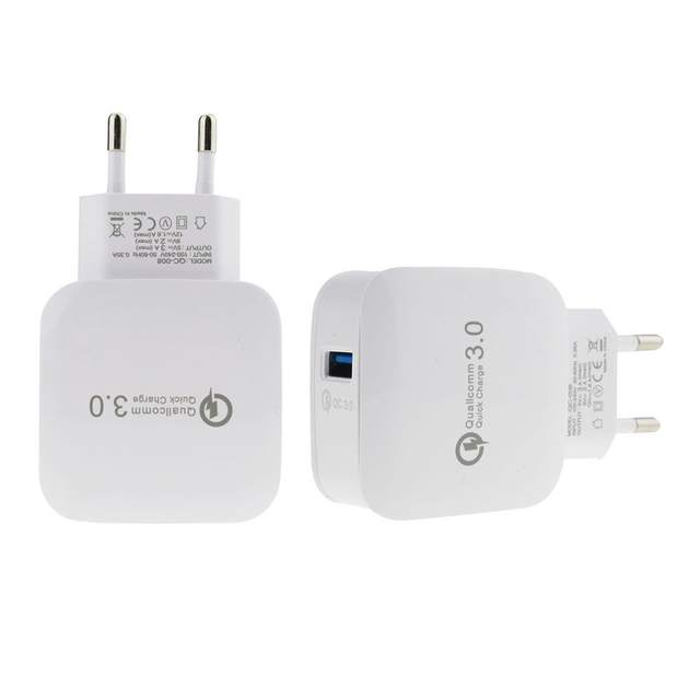 a3e914ef7489db QC3.0 Wall Fast Charger With Quick Charging TYPE C Charge for vivo v9  Motorola