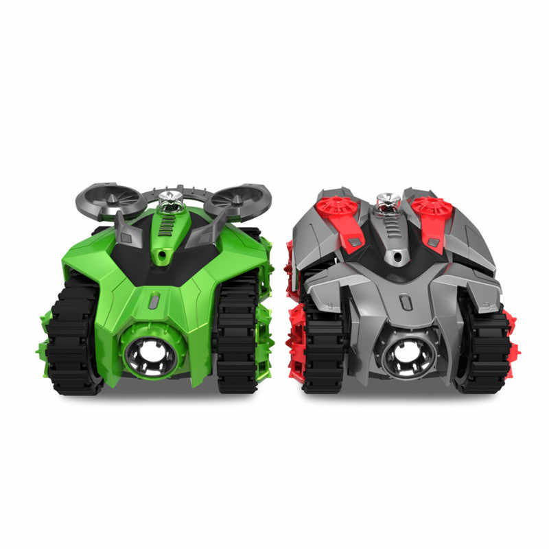 Galaxy ZEGA 2 In 1 RC Tank Fighting RC Car bluetooth Smart Remote Control with Phone Virtual Battle Games Boys Gift